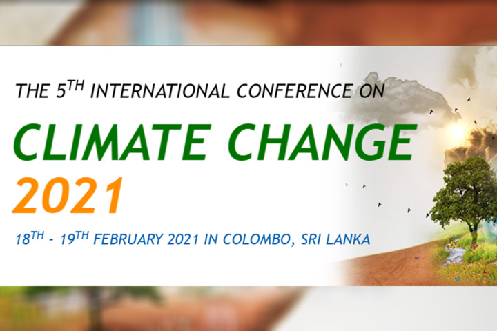 5th International Conference on Climate Change 2021