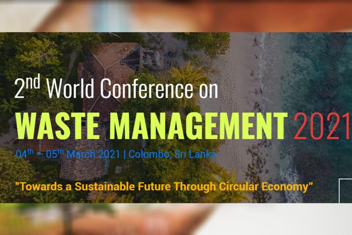 World Conference on Waste Management 2021